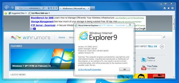 internet explorer portable windows 7